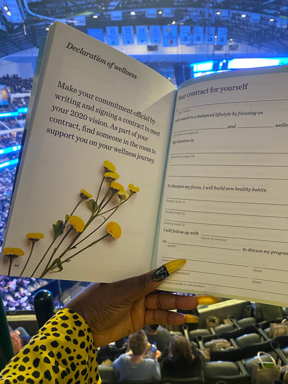 My Day With Oprah, Tracee Ellis Ross, Oprah, WW, Dallas, 2020 Vision Tour, Your life in focus, Your life in focus workbook