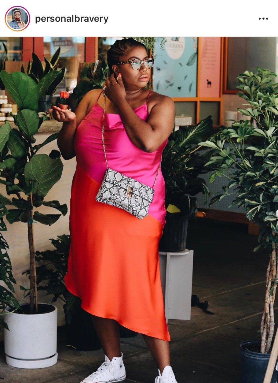 How To Plus-Size Streetwear: Dresses and Sneakers, personalbravery