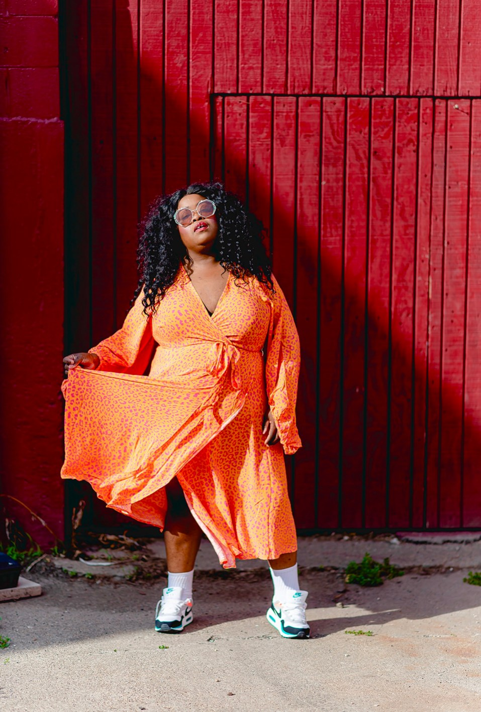 Eloquii, Plus-Size Streetwear, How To Plus-Size Streetwear: Dresses, Skirts, and Sneakers, thefatgirloffashion
