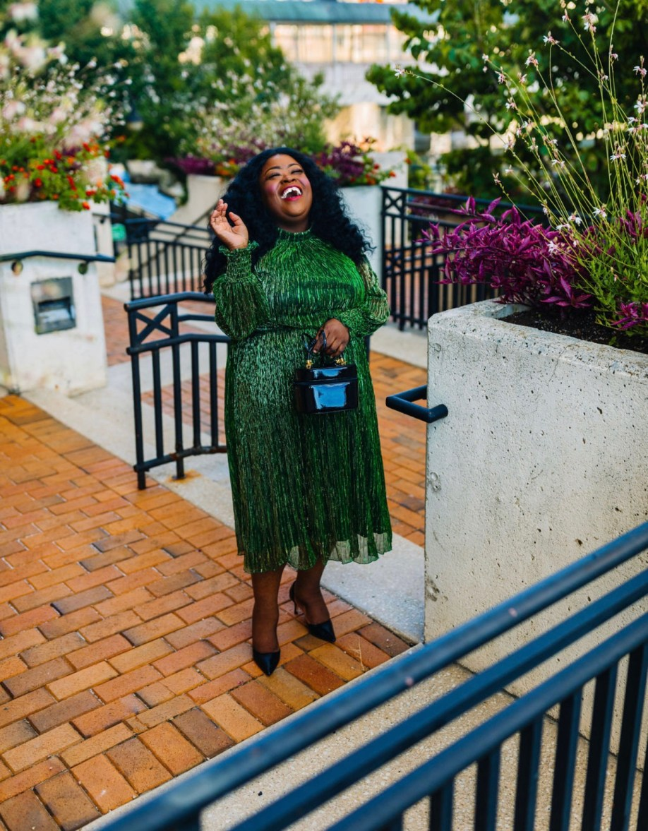Well Spotted In Eloquii, plus-size fashion influencer