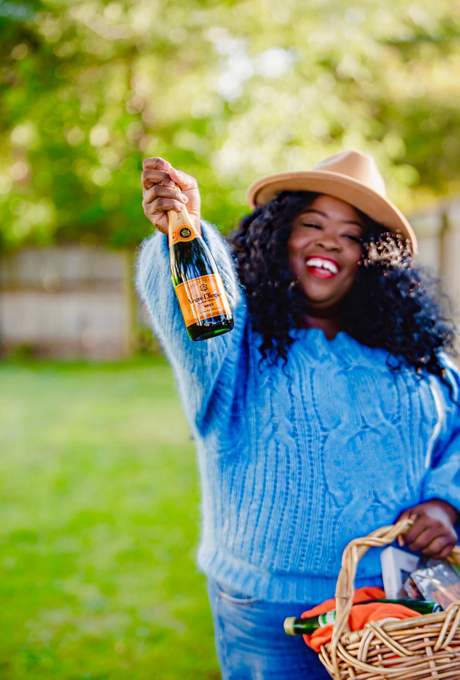 drink responsibly veuve clicquot, plus-size lifestyle blogger