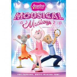 Angelina Ballerina - Mousical Medleys DVD (cover)