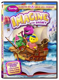Barney - Imagine with Barney DVD (cover)