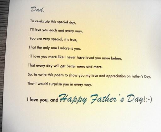 Fathers Day Poems And Pictures