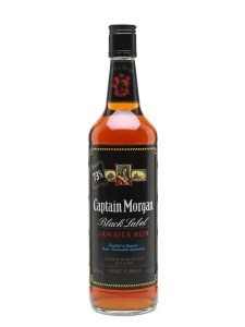 Captain Morgan Black Label Jamaica Rum 73% review by the fat rum pirate