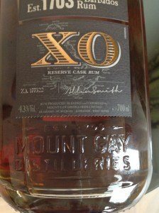 MGXO Mount Gay Extra Old Rum Review by the fat rum pirate