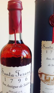 Santa Teresa 1796 rum review by the fat rum pirate