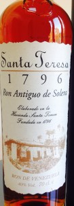 Santa Teresa 1796 rum review by the fat rum pirate