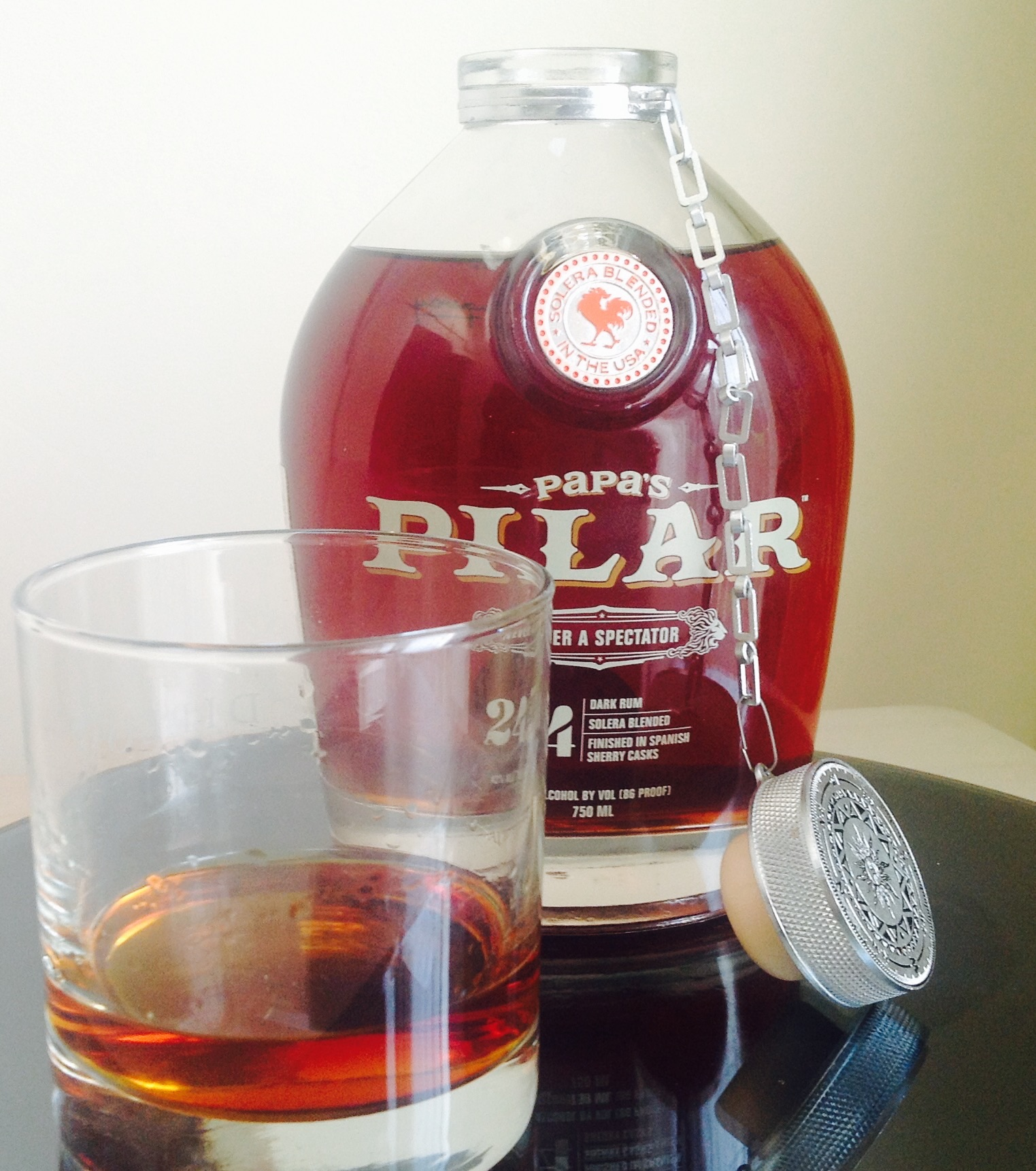 Papa's Pilar Blonde Rum - Drink of the Week | Busted Wallet