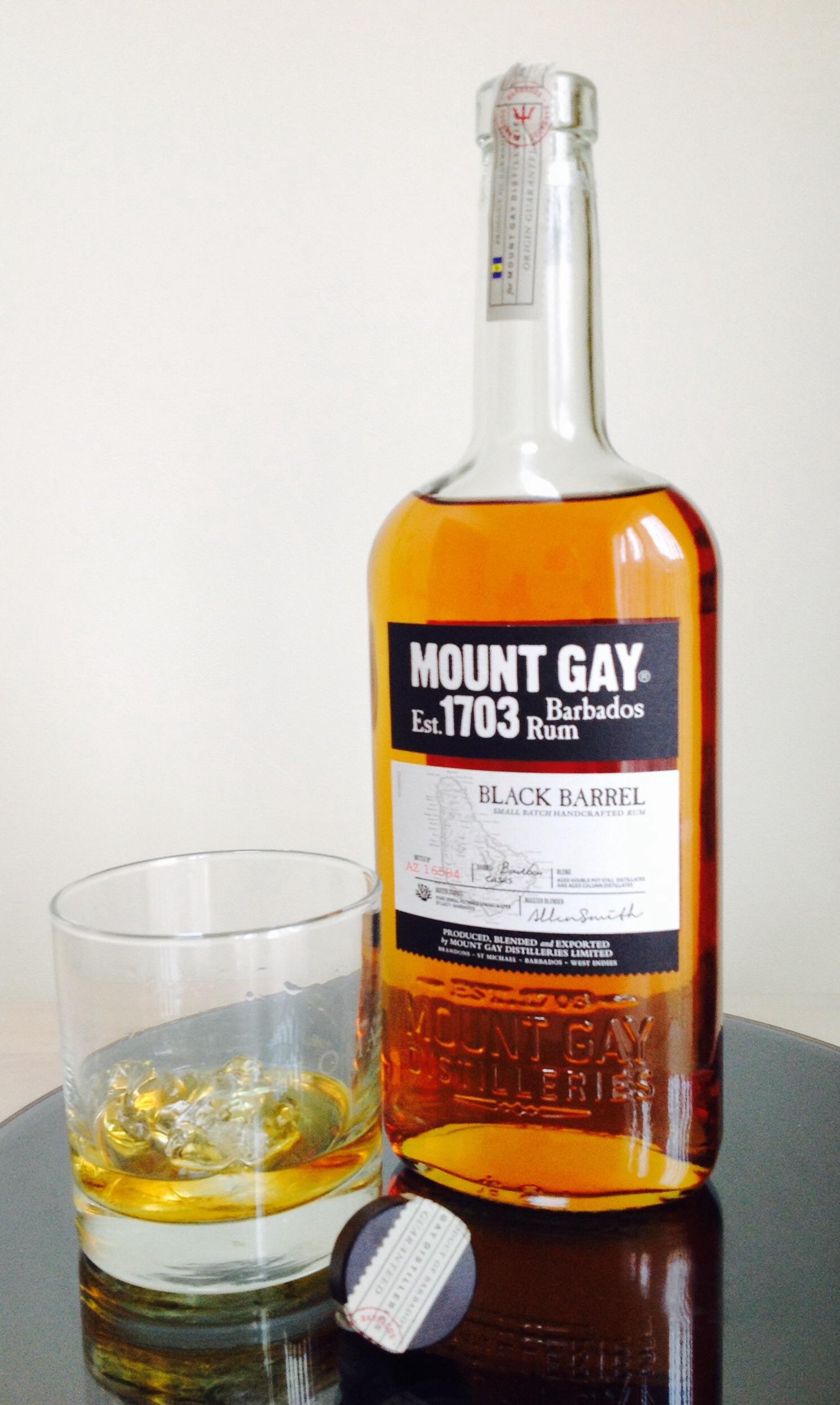 Mount gay rum black barrel review