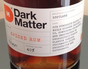 Dark Matter Spiced rum review by the fat rum pirate