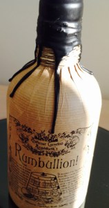 Rumbullion! rum review by the fat rum pirate