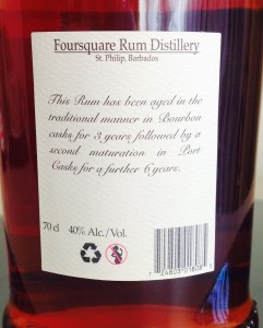 Foursquare Port Rum Finish review by the fat rum pirate