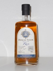 Duncan Taylor St Lucia Rum Review by the fat rum pirate