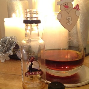 Gosling's Black Seal Rum Review by the fat rum pirate
