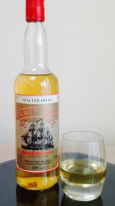 Walter Hick 125 Navy Rum Review by the fat rum pirate