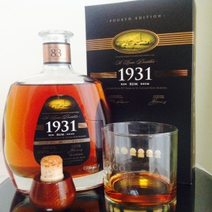 1931 4th edition rum review by the fat rum pirate