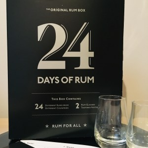 24 Days of Rum - The Original Rum Box Review by the fat rum pirate