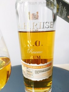 AH Riise XO Rum Review by the fat rum pirate