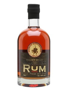 Alnwick Rum Golden Spiced Rum Review by the fat rum pirate