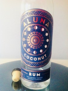 Aluna Coconuf Rum Review by the fat rum pirate
