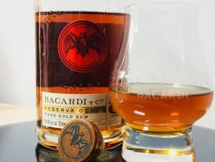 Bacardi Reserva Ocho Rare Gold Rum Aged 8 Years