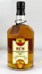 Cadenheads MEV Enmore Distillery 26 Years Old Rum Review by the fat rum pirate