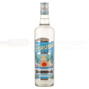 Coruba White Rum Review by the fat rum pirate