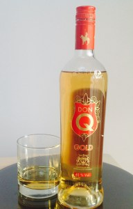 DON Q GOLD rum review by the fat rum pirate