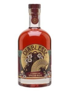 Diablesse Clementine Spiced Rum review by the fat rum pirate