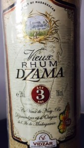 Dzama Rhum Vieux Aged 3 Years Rum review by the fat rum pirate