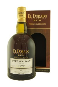 El Dorado Rare Collection Port Mourant 1999 rum review by the fat rum pirate