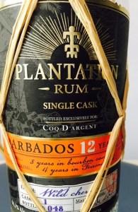 Plantation Rum Single Cask Barbados 12 Years - Wild Cherry Finish