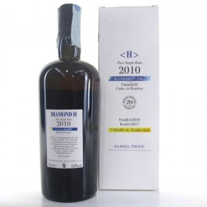 Velier Hampden H Diamond 2010 Rum Review by the fat rum pirate