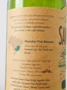 Cachaca Santo Grau Itirapua Rum Review by the fat rum pirate