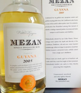 Mazan Guyana 2005 rum review by the fat rum pirate