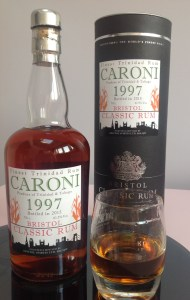Bristol Classic Rum Trinidad 1997 rum review by the fat rum pirate