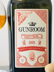 Gunroom Navy Rum Review by the fat rum pirate
