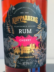 Kopparberg Cherry Flavoured Spiced Rum review by the fat rum pirate