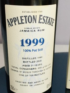 Appleton Estate 1999 Hearts Collection rum review by the fat rum pirate