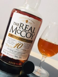 The Real McCoy Aged 10 Years Limited Edition Rum review by the fat rum pirate