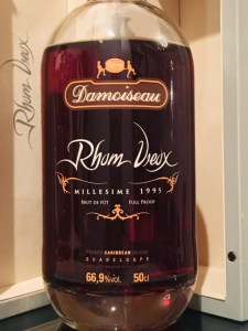 Damoiseau Rhum Vieux Millesime 1995 Rum Review by the fat rum pirate
