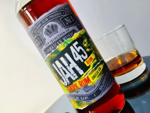 JAH 45 Jamaica Rum Dark Rum Review by the fat rum pirate