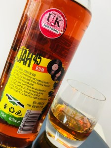 Jah45 18 Ct Gold Jamaican rum review by the fat rum pirate