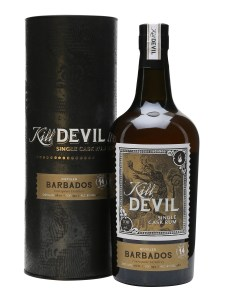 Kill Devil Barbados Aged 14 Years rum review by the fat rum pirate