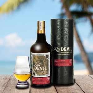 Kill Devil Jamaica Hampden Distillery Aged 17 Years The Whisky Barrel Exclusive Rum Review by the fat rum pirate