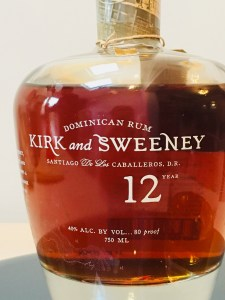 Kirk and Sweeney 12 year old rum review by the fat rum pirate