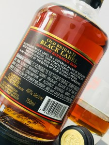 Old Brigand Black Label Superior Rum review by the fat rum pirate