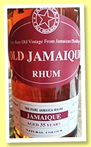 Old Jamaique Rum Aged 35 Years Long Pond 1977 review by the fat rum pirate