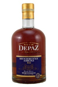 Rhum Depaz Rhum Hors D'Age Agricole XO Rum review by the fat rum pirate